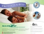protect a bed AllerZip