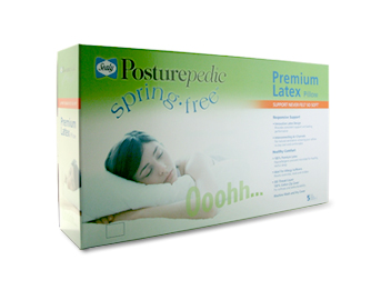 sealy springfree latex pillow