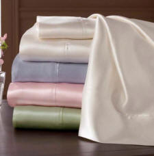 Silk Charmeuse Bed Sheets